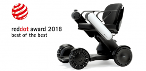 "WHILL Awarded 2018 ""Red Dot: Best of the Best"""
