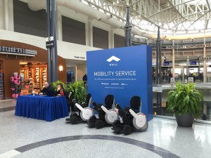 """""""WHILL Rental"""" at CVG Airport"""