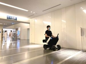 Keio University Hospital Begins Technical Trial of WHILL Autonomous Driving Technology to Improve Patient Mobility